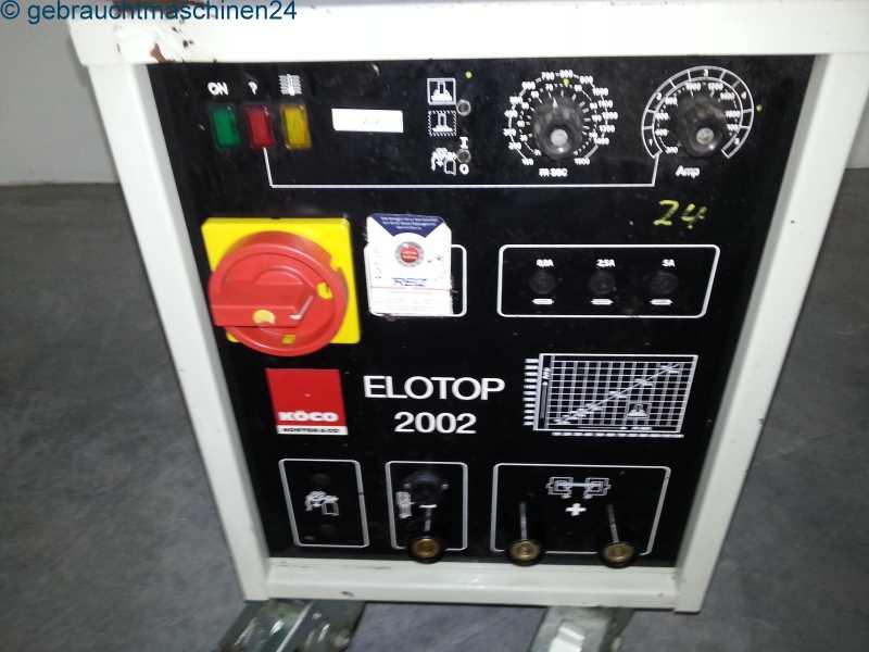 Bolzenschweißgerät mit HubzündungElotop 2002