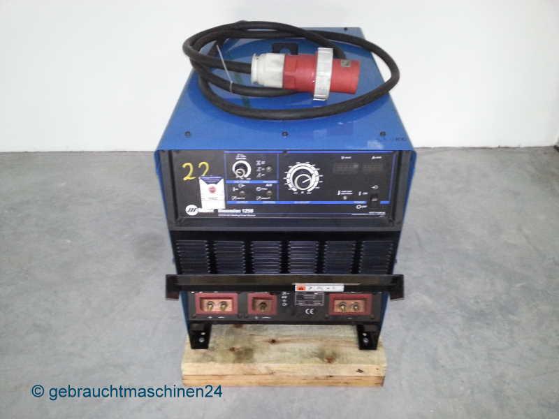 Schweissstromquelle zum UP-Schweissen, StromquelleDimension 1250