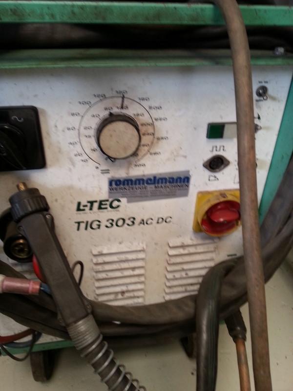 WIG-SchweißgerätTIG 303 AC/DC