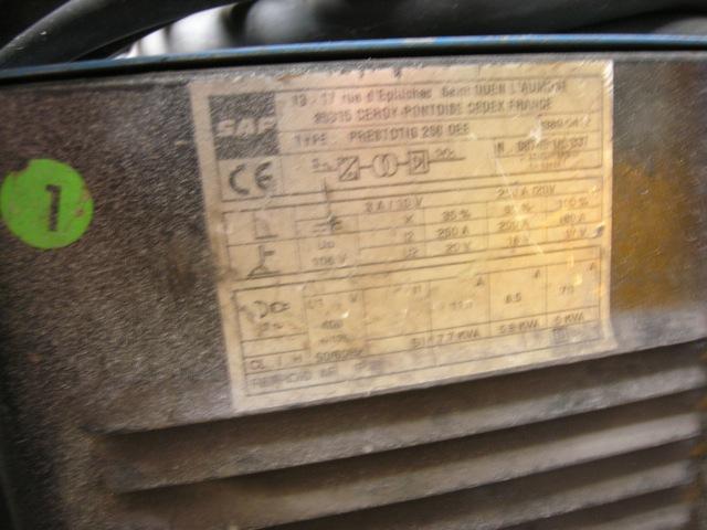 WIG-Schweißgerät, tragbarPrestotig 250