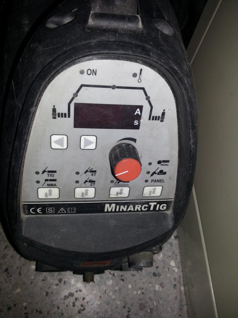 WIG Schweißgerät gebraucht, transportabelMiniArc TIG 180