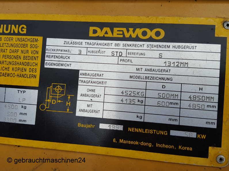 Gabelstapler LPG mit SeitenschieberG45S