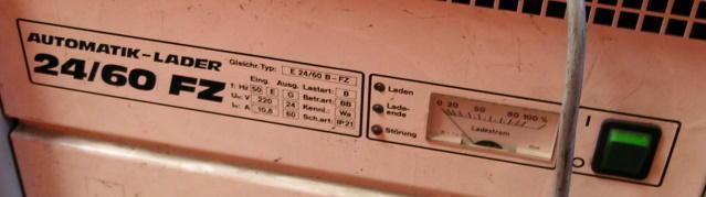 Ladegerät für Stapler 24 V 80 AHE 24/80-FZ