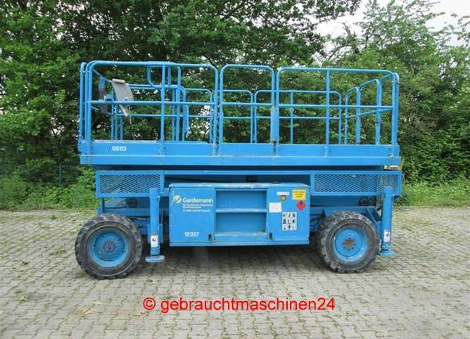 Scheren-Arbeitsbühne für 5 Personen Höhe 11,20 mLX 31 4WD
