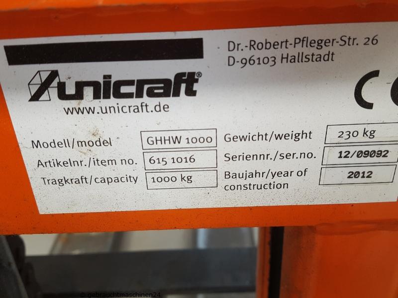 GabelhochhubwagenGHHW 1000