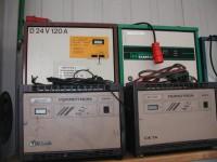 Stapler Ladegerät 24 V 120 AHD24