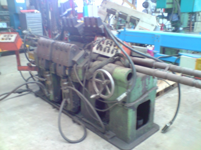 hydr. Stauchmaschine, SchmiedepresseHS 100