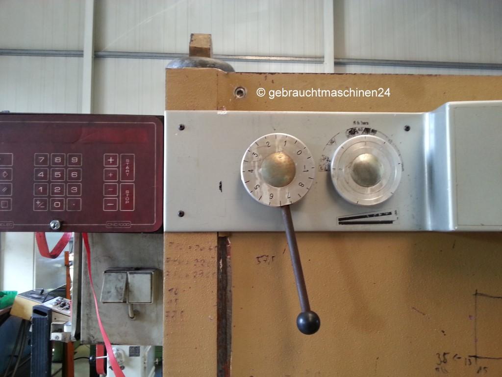 Tafelschere 4 m x 6 mm gebrauchtGHEA 4006