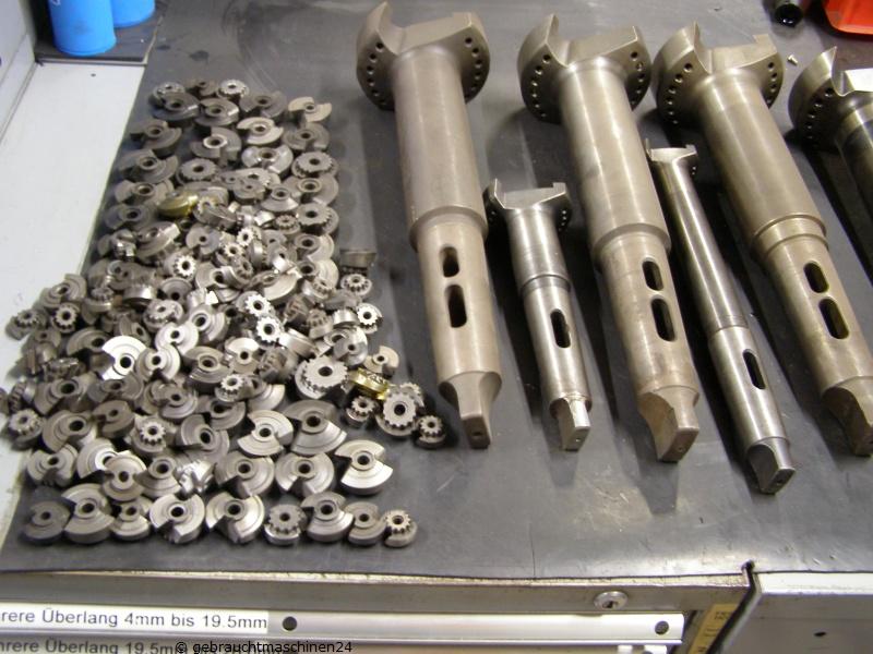 Spiralbohrmesser BilzL1 bis L9