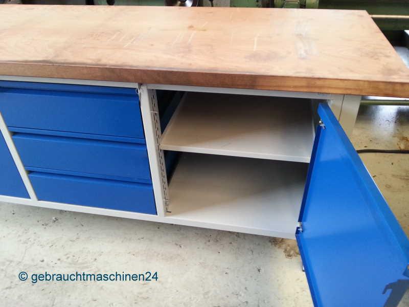 rau werkbank gebraucht 2 m schubladen unterschr nke. Black Bedroom Furniture Sets. Home Design Ideas