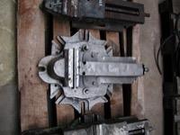 Maschinenschraubstock Backenbreite 175 mmBrockhausauf Drehteller