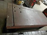 Aufspannplatte, Richtplatte, Schweisstisch2500 x 1250 mm