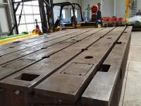 Aufspannplatte aus Guss, T-Nutenplatte4000 x 2100 x 400 mm