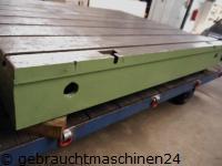 Aufspannplatte mit T-Nuten3500 x 1360 x 310 mm
